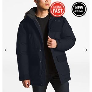 Men's M Navy Blue The North Face Winter Jacket
